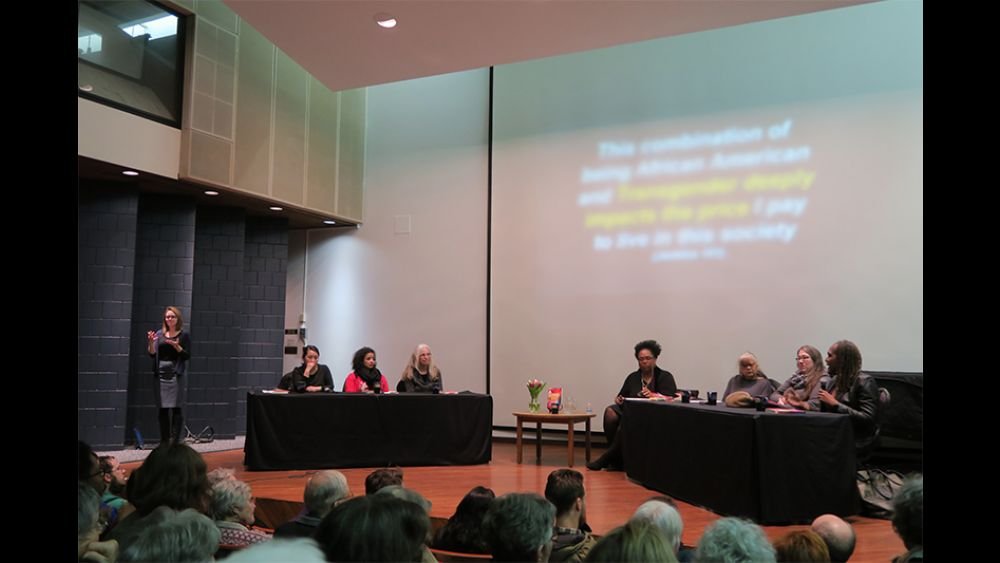 panel discussion in the Recital Hall