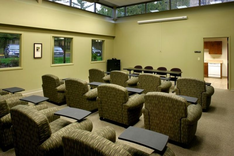 Inside Shot of Morrison Hall Classroom/Meeting Room