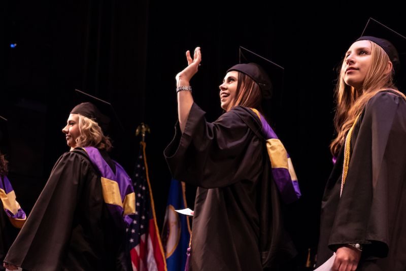 College for Women Commencement 2019