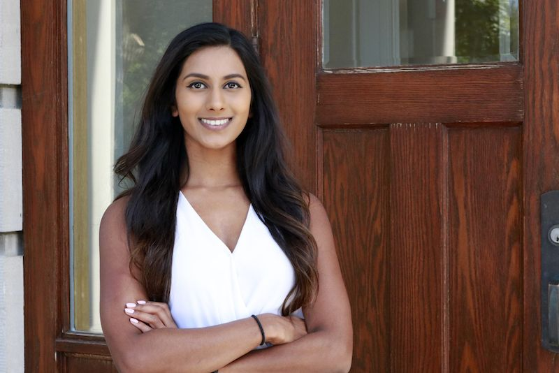 Headshot of College for Women Admission Counselor Smita Allerson