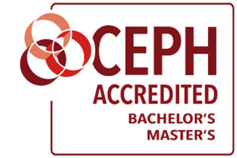 CEPH Accredited Bachelor's Master's