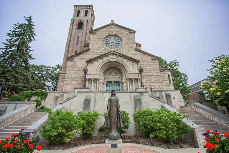 Our Lady of Victory Chapel on St. Kate's St. Paul, MN campus