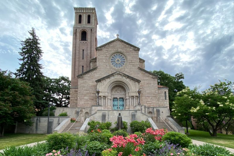 Our Lady of Victory Chapel on St. Catherine University's St. Paul, MN campus