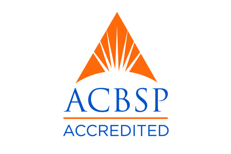 logo noting ACBSP accreditation