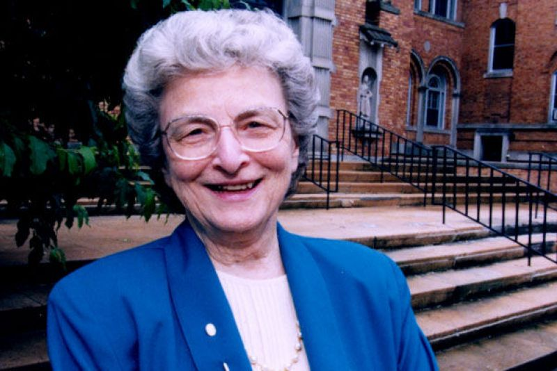 Photo of Mary Madonna Ashton, CSJ, former Minnesota Commissioner of Health