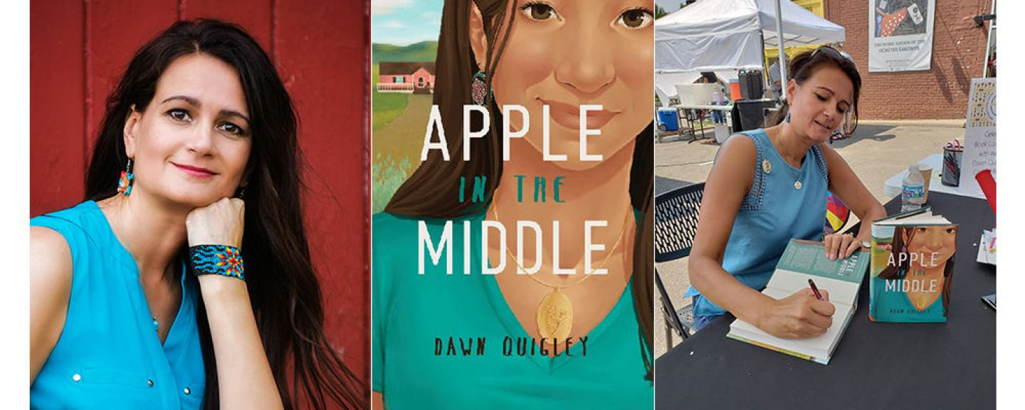 "Dawn Quigley, author of ""Apple in the Middle"""
