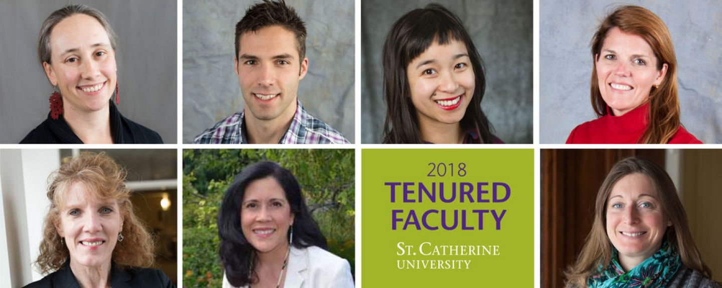 2018 tenured faculty