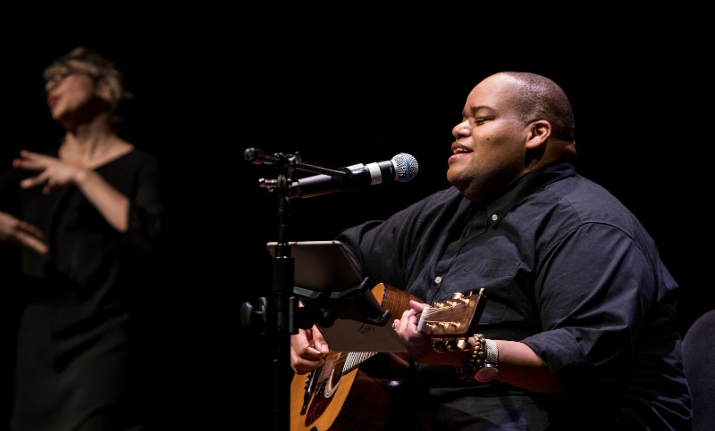 Toshi Reagon performing