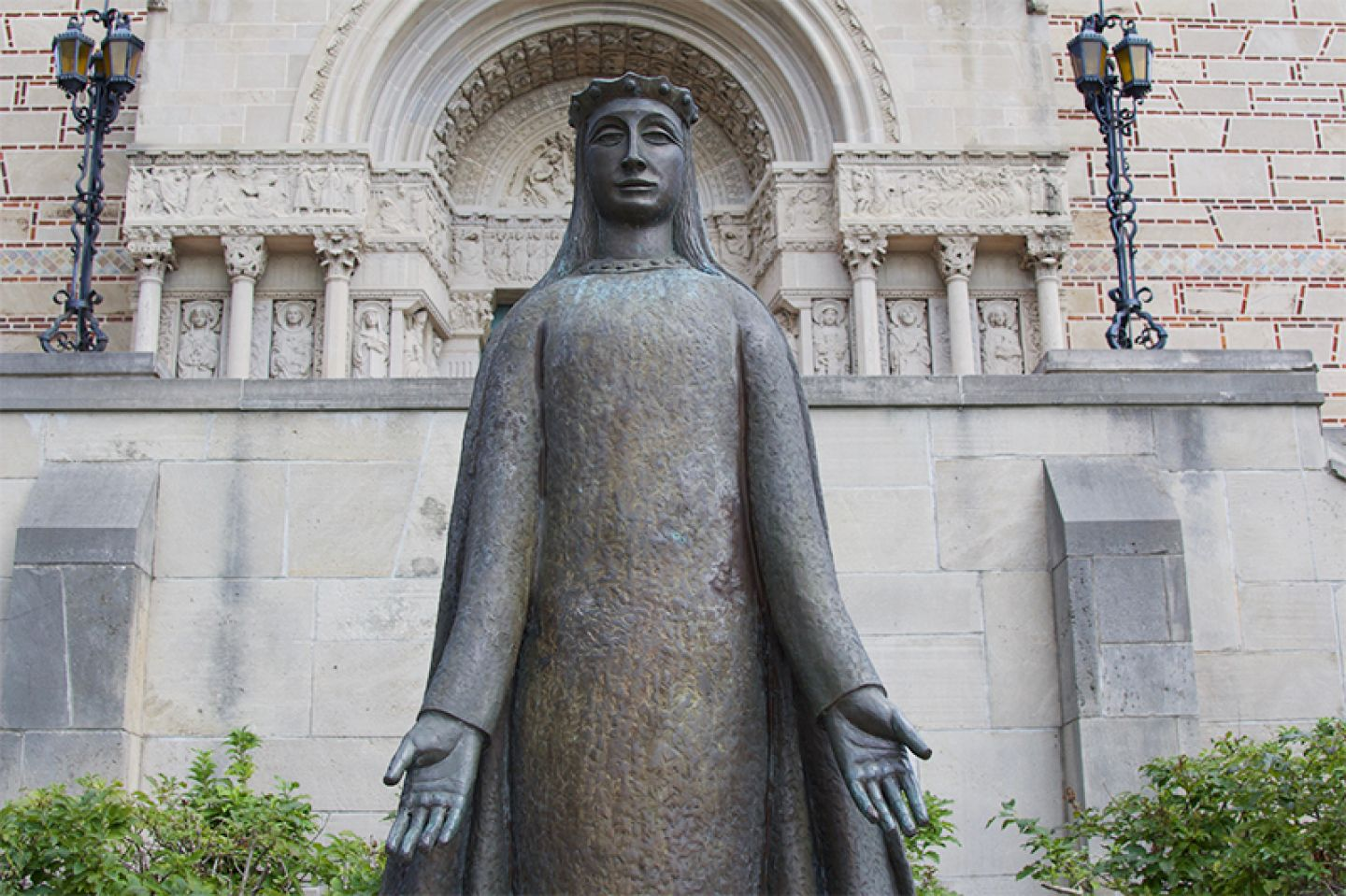Statue of St. Catherine