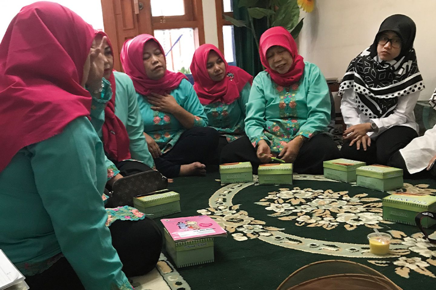 Community health workers in Indonesia