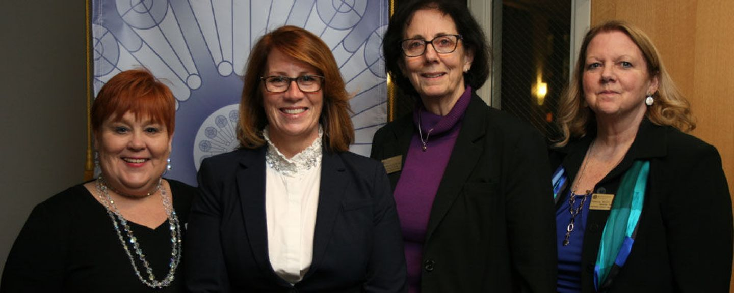 Minnesota State Representative Erin Murphy MAOL'05 issued this clarion call to St. Catherine University's Master of Nurse Practitioner candidates: engage in advocacy and public policy.